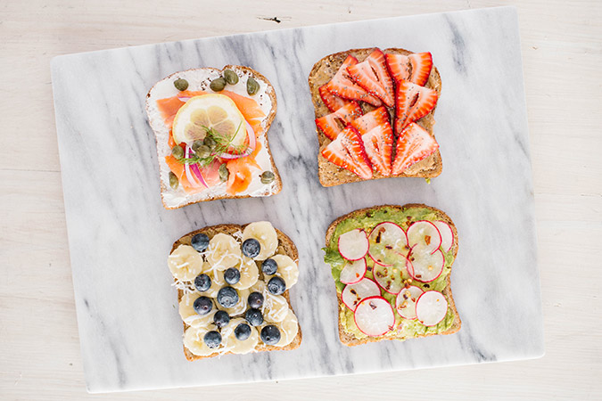Recipe Box: Breakfast Toast 4 Ways