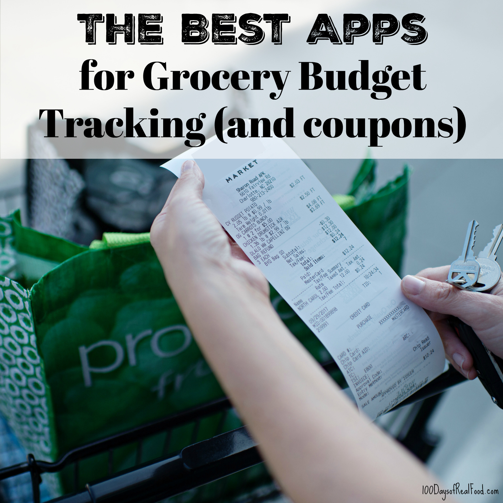The Best Apps for Grocery Budget Tracking (and coupons)
