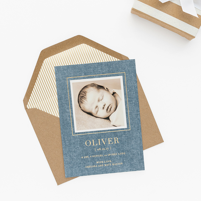 Ladylike Laws: Tips for Putting Together the Perfect Baby Announcement
