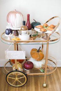 Inspired Idea: A Halloween Bar Cart