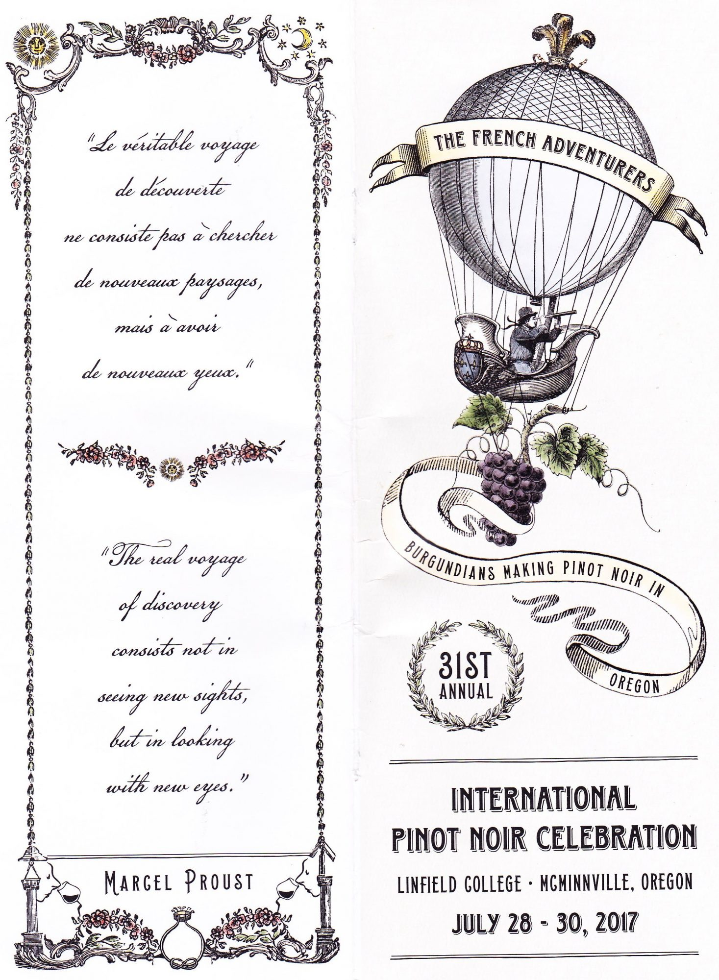 On Pinot Trail in Willamette Valley & at International Pinot Noir Celebration Pt I