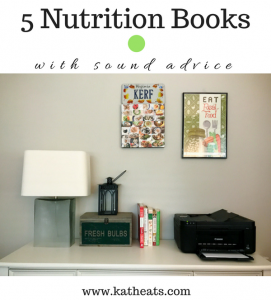 Five Of My Favorite Nutrition Books